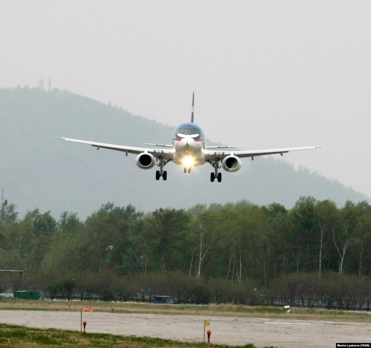 Российские самолеты «Суперджет» останутся только у российских авиакомпаний