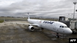 An Airbus A321 bearing the logo of Iran Air was delivered in January