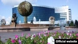 Астанадағы қаржы министрлігі ғимараты. (Көрнекі сурет)