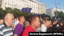 Protest u Beogradu, 8. jun 2019.
