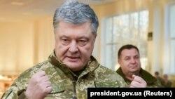 Ukrainanyň prezidenti Petro Poroşenko
