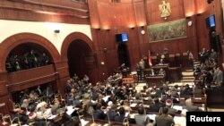 مجلس علیای مصر زمستان ۱۳۹۱ پس از برگزاری انتخابات، با اکثریت احزاب اسلامی کار خود را آغاز کرد.