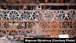 Частка экспазыцыі этнаграфінага музэя Васіля Шкіндзера