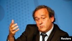 Ексзірка французького футболу Мішель Платіні