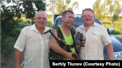 Сергій Тіунов (справа), Сергій Дубинський (в центрі), архівне фото