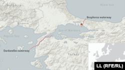 Проливы Босфор и Дарданеллы
