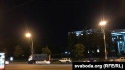 Затрыманьне раварыстаў у цэнтры Менску, 7 жніўня