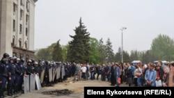 Одесса, Украина. 3 мамыр 2014 жыл.