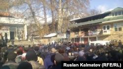 Митинг в Арстанбапе.
