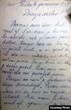 Pismo Mahmuta efendije Žige