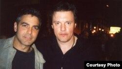 Ілля Волох з Джорджем Клуні