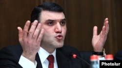 Генеральный прокурор Армении Геворк Костанян (архив)