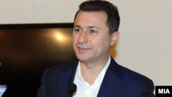 Архивска фотографија: Премиерот и лидер на ВМРО-ДПМНЕ Никола Груевски.