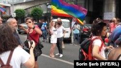 La demonstrația Gay Pride, de la București la 9 iunie 2018