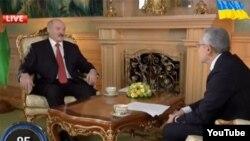 Александр Лукашенко в программе Савика Шустера