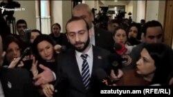 Спикер парламента Армении Арарат Мирзоян, Ереван, 15 января 2019 г.