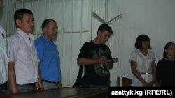 Айсулуу Тыныбекова сот залында. 20-июль, 2012-жыл.