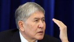 """Атамбаев """"парламентті тарату"""" идеясын қолдады"""