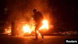 Беспорядки в Окленде
