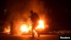 Беспорядки в Окленде.