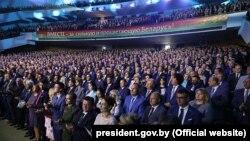Лукашэнка, пасланьне да народу і Нацыянальнага сходу, Менск, 4 жніўня