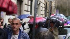 Migranți din Italia