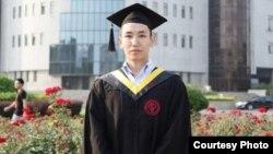 Аблай Каракожаев, студент китайского нефтяного университета.