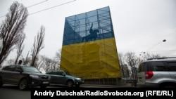 Пам'ятник більшовицькому військовому діячеві Миколі Щорсу в Києві, який підлягає декомунізації, 2017 рік