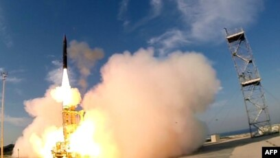 Israel and US Successfully Test Arrow-3 Anti-Ballistic