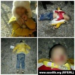 По словам родственников Кибриё, перед смертью малышку жестоко пытали.