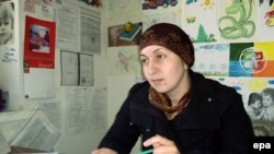 Zarema Sadulayeva was abducted from her office, along with her husband.
