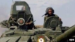 Rus tankları Qoridə - 2008