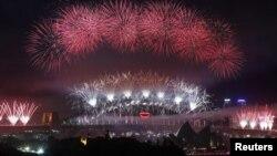 Festimet e Vitit të Ri në Sidnej të Australisë