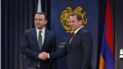 Տոնոյանն իր վրացի գործընկերոջ հետ ստորագրել է ռազմական համագործակցության ծրագիրը