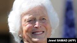 АКШнын мурдагы биринчи айымы Барбара Буш. Техас. 25-апрель, 2013-жылы тартылган сүрөт.