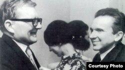 Dmitri Șostakovici cu Mieczyslaw Weinberg