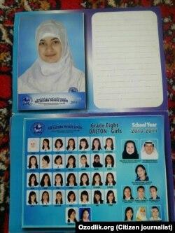 В ОАЭ сестры Саттаровы закончили англоязычную школу.