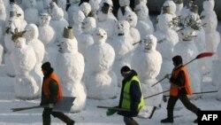 Muncitori migranţi la Moscova
