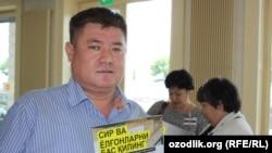 Huquq faoli Abdurahmon Tashanov