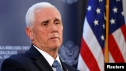U.S. Vice President Mike Pence (file photo)