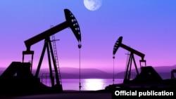 Техас штатындағы мұнай өндіру ұңғымалары (Көрнекі сурет).