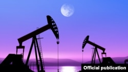 Добыча нефти в Техасе.