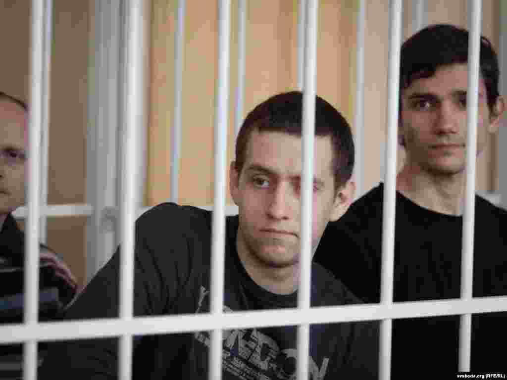 Алесь Кіркевіч і Андрэй Пратасеня