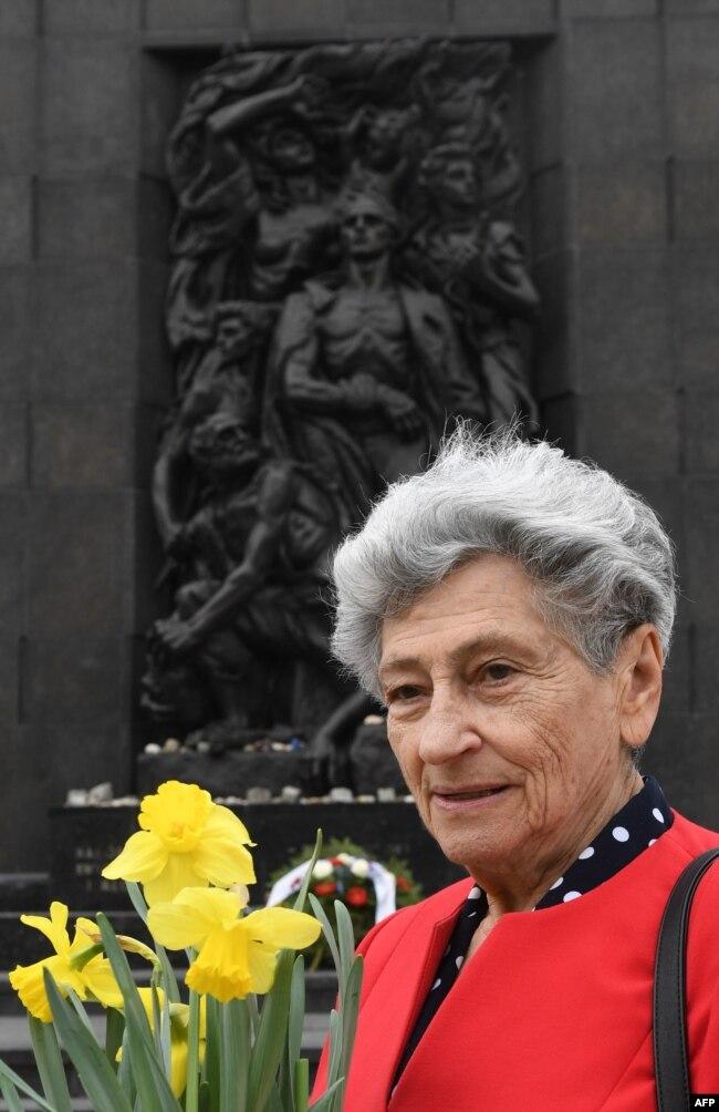 86-річна Кристина Будницька, останній живий свідок Варшавського повстання