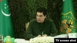 Prezident Gurbanguly Berdimuhamedow.