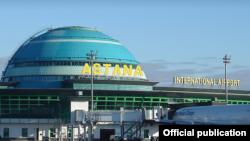 Аэропорт Астаны до переименования в «Международный аэропорт Нурсултан Назарбаев».