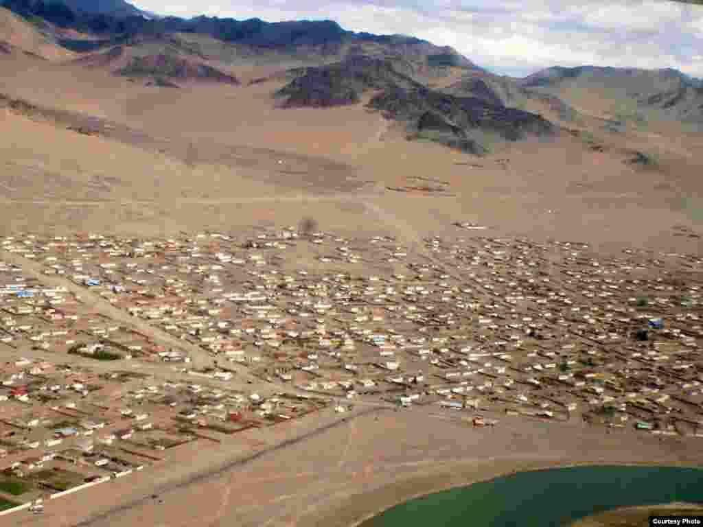 Самая западная часть Монголии.
