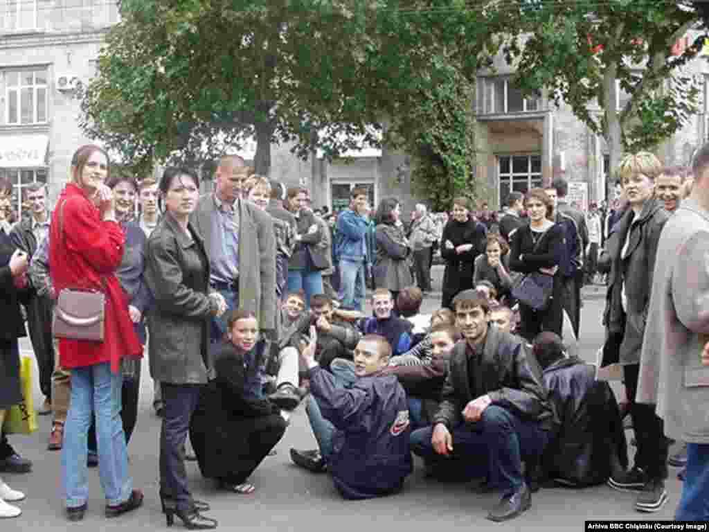 Proteste la Chişinău, 7 septembrie 2000