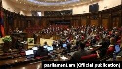 Заседание Национального собрания Армении. Иллюстративное фото.