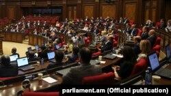 Заседание Национального собрания Армении (архив)